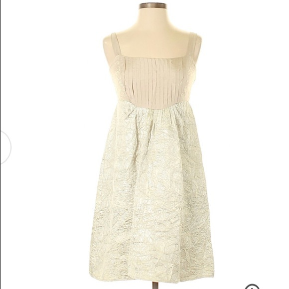 Anthropologie Dresses & Skirts - Belle Gown Silk Dress